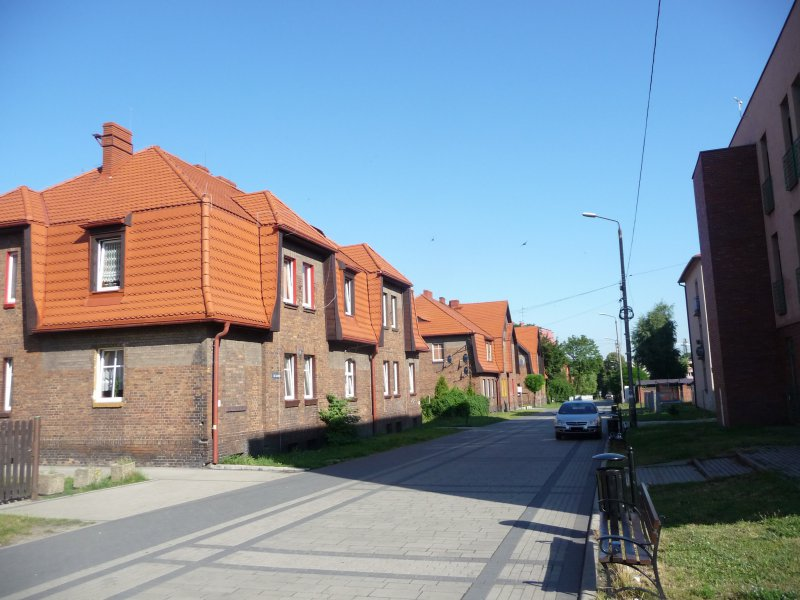 Zdjęcie przedstawiające zrewitalizowane osiedle